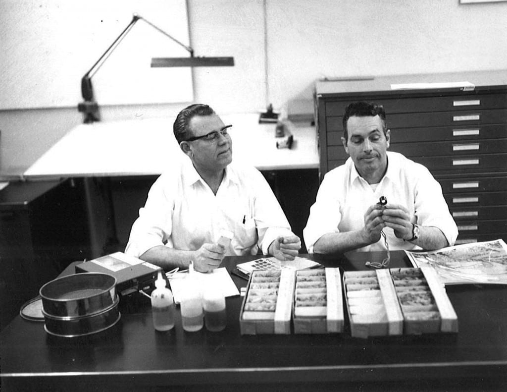 Office activity, 1968
